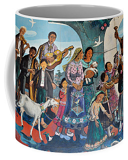 The Blessing Of Animals Olvera Street Coffee Mug