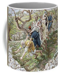 The Blind Leading The Blind Coffee Mug