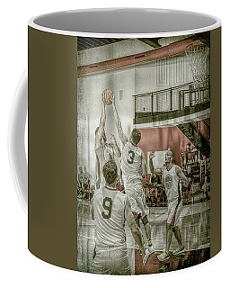 Coffee Mug featuring the photograph The Block by Ronald Santini
