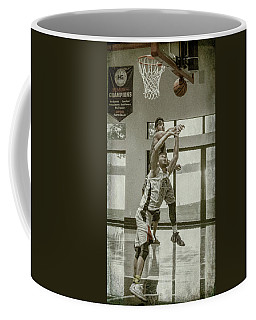 Coffee Mug featuring the photograph The Block Too by Ronald Santini