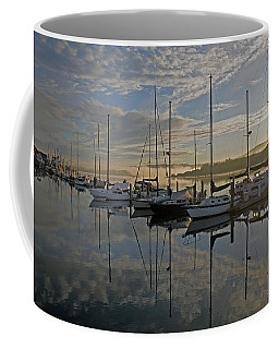 The Blue And Beyond Coffee Mug by Suzy Piatt