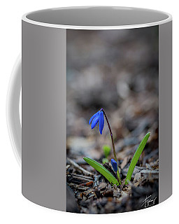 The Blue Flower Coffee Mug