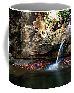 The Blue Hole In November #2 Coffee Mug by Jeff Severson