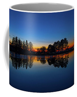Coffee Mug featuring the photograph The Blue Hour.. by Nina Stavlund