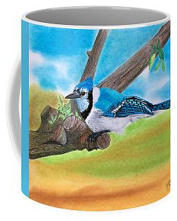 The Blue Jay  Coffee Mug