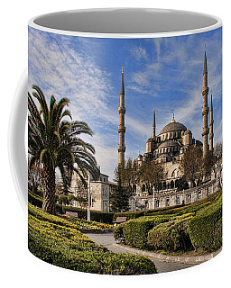 The Blue Mosque In Istanbul Turkey Coffee Mug by David Smith