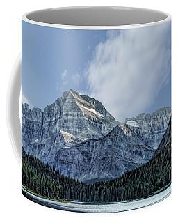 The Blue Mountains Of Glacier National Park Coffee Mug