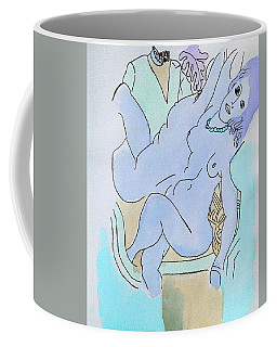 The Blue Nude Coffee Mug