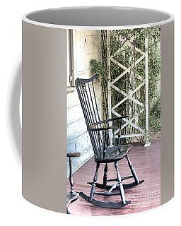 The Blue Rocking Chair  Coffee Mug