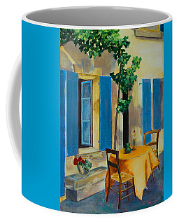 The Blue Shutters Coffee Mug