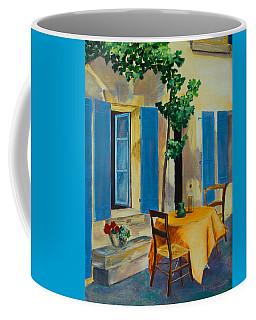 The Blue Shutters Coffee Mug