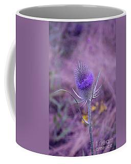 The Blue Softness Of A Teasel Coffee Mug