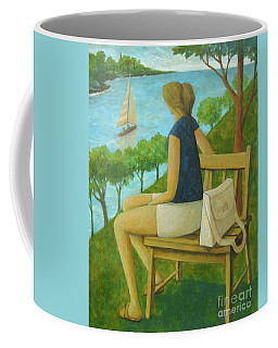 The Bluff Coffee Mug by Glenn Quist