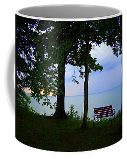 The Bluffs Bench Coffee Mug