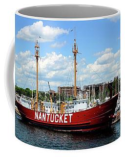 The Lightship Nantucket Coffee Mug