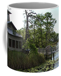 The Boathouse At Watercolor Coffee Mug