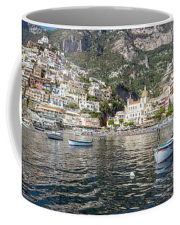 The Boats Of Positano  Coffee Mug