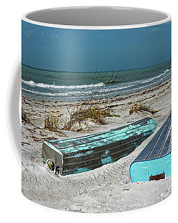 Coffee Mug featuring the photograph The Boats by Paul Mashburn