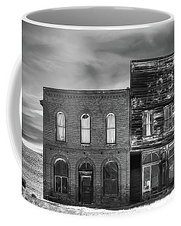 The Boot Building Coffee Mug by Marius Sipa