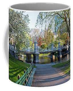 The Boston Public Garden In The Spring Boston Ma Coffee Mug