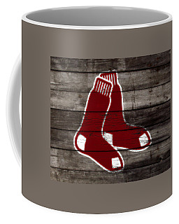 Coffee Mug featuring the mixed media The Boston Red Sox W6   by Brian Reaves