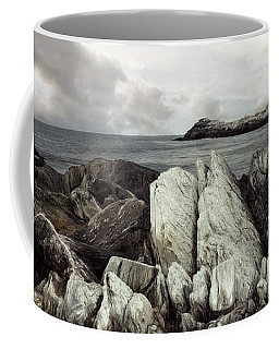 Coffee Mug featuring the photograph The Boulder Breach by Robin-Lee Vieira