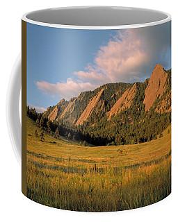 The Boulder Flatirons Coffee Mug