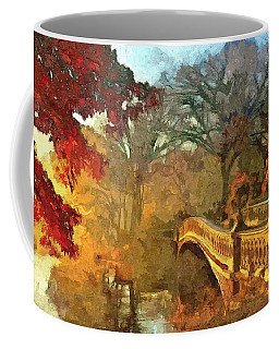 The Bow Bridge Nyc  Coffee Mug by Maciek Froncisz