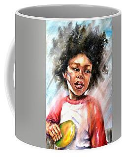 The Boy With A Mango Coffee Mug