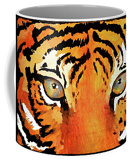 Coffee Mug featuring the painting The Brave by Jennifer Page