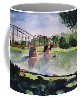 The Bridge At Ft. Benton Coffee Mug