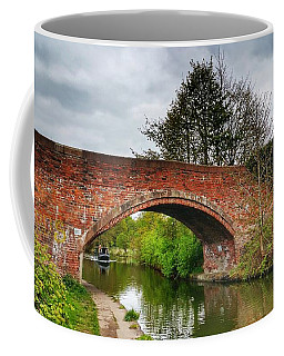 Coffee Mug featuring the photograph The Bridge by Isabella F Abbie Shores FRSA
