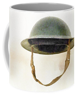 The British Brodie Helmet  Coffee Mug