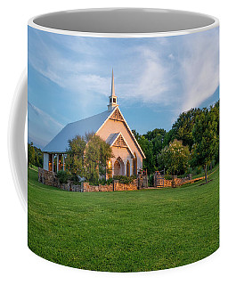 Coffee Mug featuring the photograph The Brooks At Weatherford Wedding Chapel by Robert Bellomy