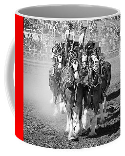 The Budweiser Clydesdales Coffee Mug