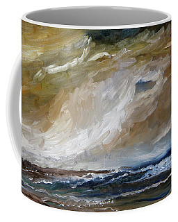 The Building Storm Coffee Mug