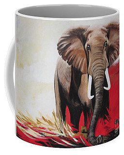 Win Win - The  Bull Elephant  Coffee Mug