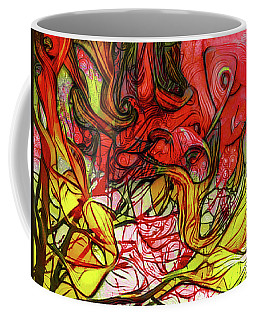 The Burning Bush Encounter Coffee Mug