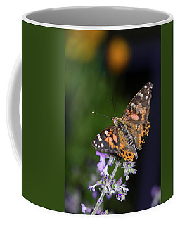 Coffee Mug featuring the photograph The Butterfly Effect by Alex Lapidus