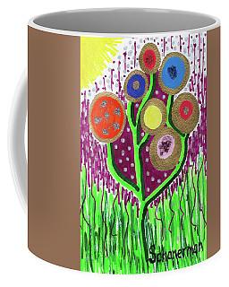 The Button Ball Tree Coffee Mug