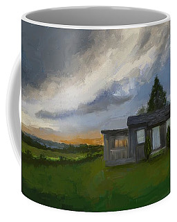 The Cabin On The Hill Coffee Mug