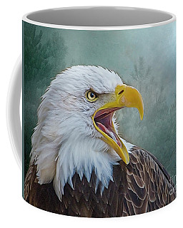 The Call Of The Eagle Coffee Mug
