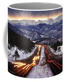 The Call Of The Mountains Coffee Mug