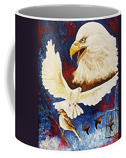 Coffee Mug featuring the painting The Called And Chosen Ones by Jennifer Page