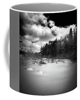 Coffee Mug featuring the photograph The Calm Of Winter by David Patterson