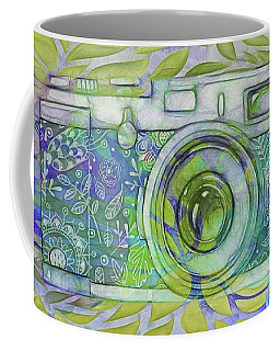 Coffee Mug featuring the digital art The Camera - 02c5b by Variance Collections