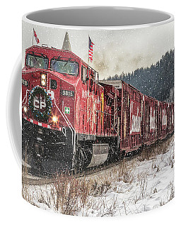 The Canadian Pacific Holiday Train Coffee Mug