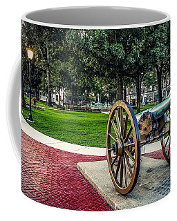 The Cannon In The Park Coffee Mug
