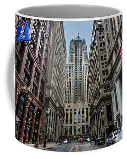 The Canyon In The Financial District Coffee Mug