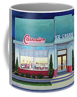 The Carnation Ice Cream Shop Coffee Mug